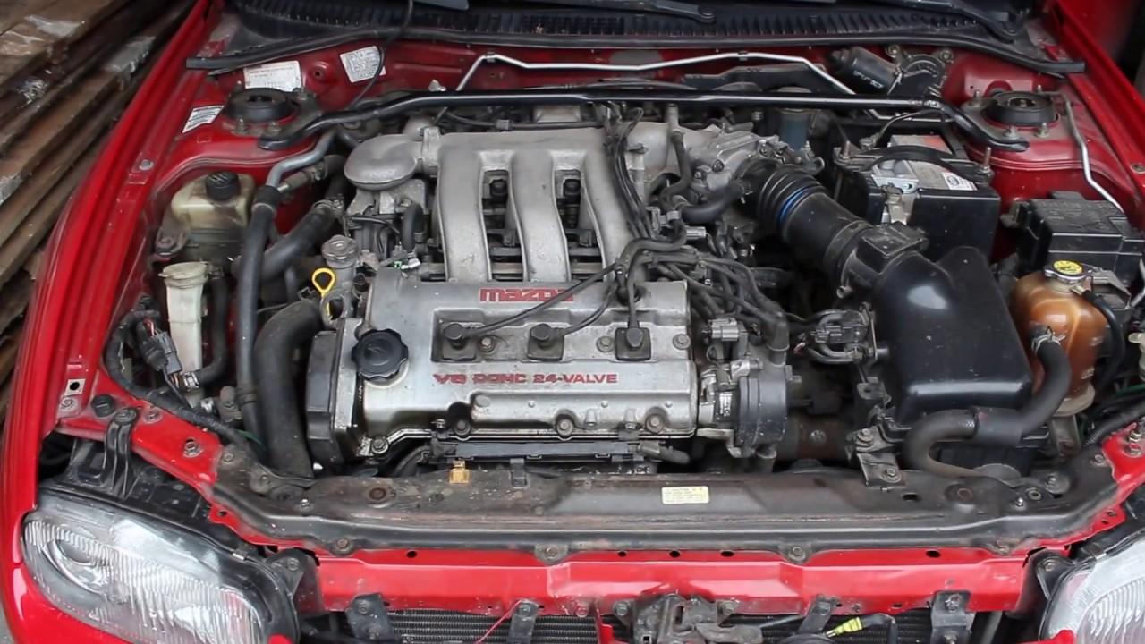 Mazda 323 20 — двиг KF 20L V6 24 valve DOHC  YouTube