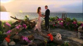 The Bachelorette 7 Final Rose Ceremony ~ Ashley and JP