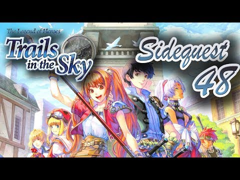 The legend of heroes Trails in the sky SIDEQUESTS 48 : Sewer Monster East