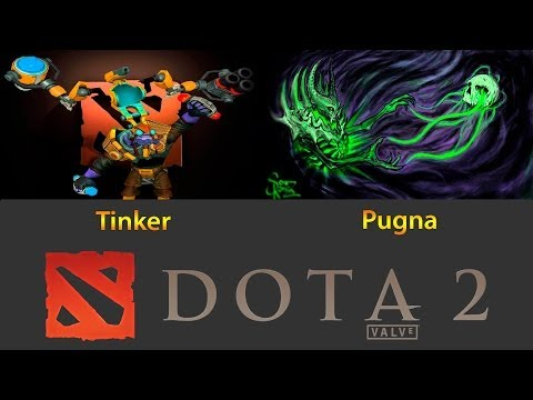 видео: dota 2 battle pugna vs tinker (Пугна против Тинкера)