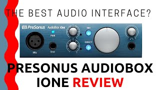 The Best Audio Interface?   PreSonus AudioBox iOne Review   The Bearded Musician