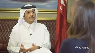 Qatari minister: Middle East countries should engage, despite differences | Street Signs Europe