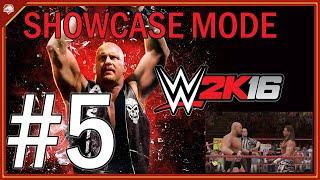 Stone Cold vs. Shawn Michaels | Showcase Mode #5 | WWE 2K16