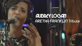 Aubrey Logan's tribute to Aretha Franklin - NATURAL WOMAN