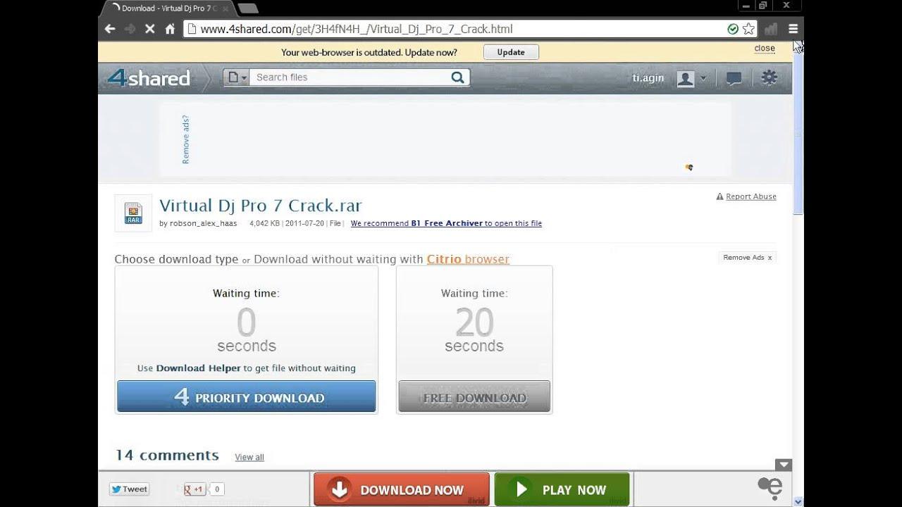 download virtual dj 8 crack file