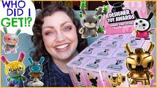 Kidrobot Designer Toy Awards Dunny Mini Series   FULL CASE Mystery Unboxing!