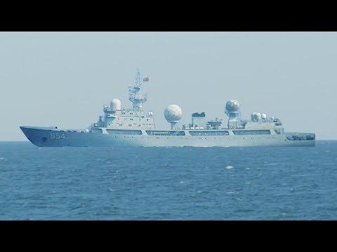 Chinese Spy Ship Caught Watching US | China Uncensored