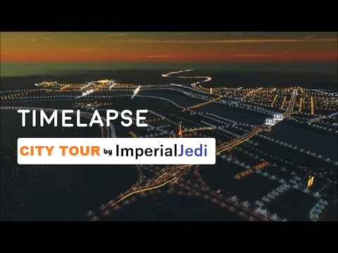 Cities: Skylines - Tour of the European Timelapse City by ImperialJedi