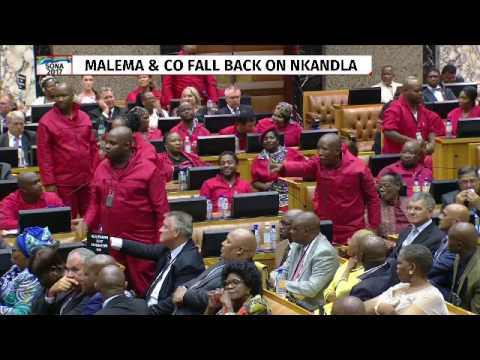 Malema lashes out at Baleka Mbete
