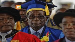 Mugabe ahudhuria mahafali ya chuo cha Zimbabwe