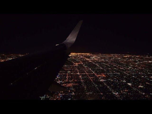 Delhi Airport Flight Window Night Scene I delhi night view from flight