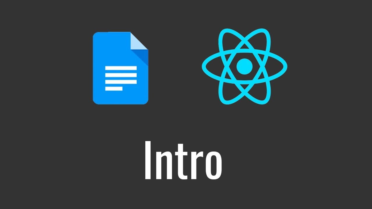 Mini Google Docs Clone in React – Intro