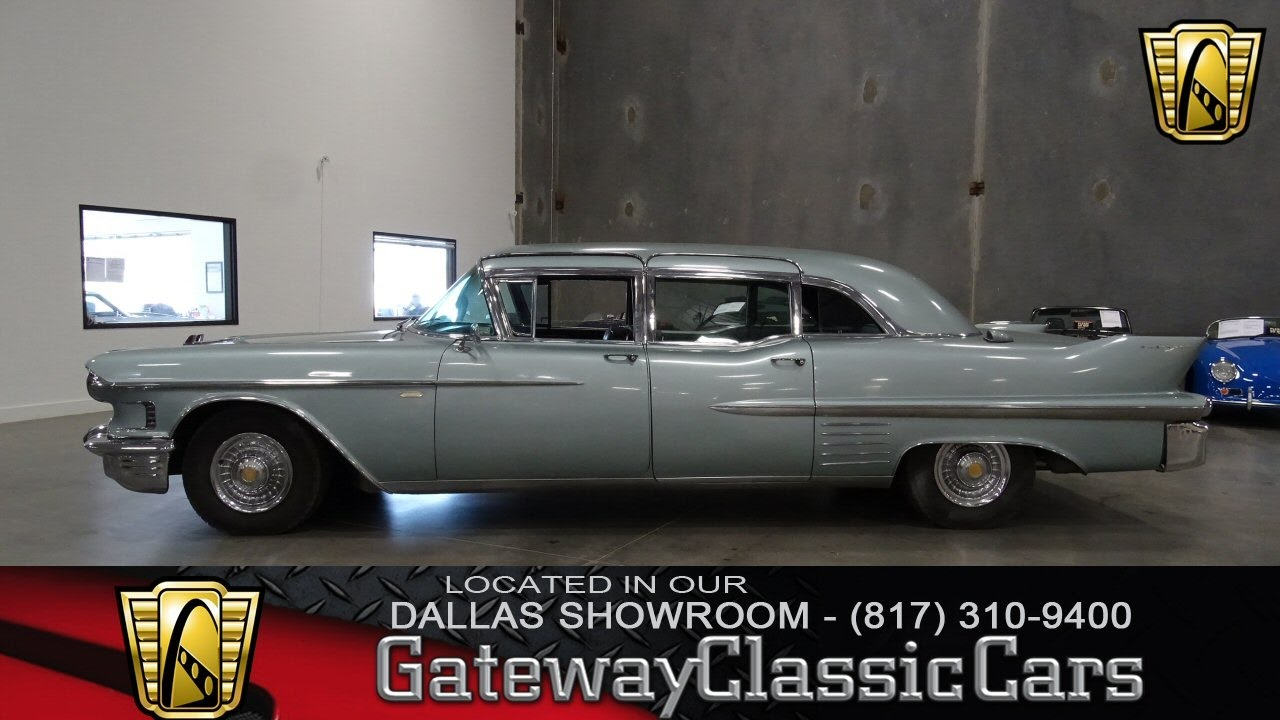1958 Cadillac Fleetwood Series 75 Limo #266-DFW Gateway Classic Cars ...
