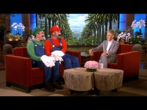Mario and Luigi are out and proud on Ellen DeGeneres' show