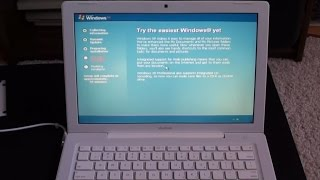 Installing Windows XP on a MacBook (Mid 2007)