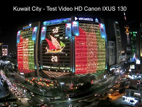 Kuwait City - Video HD Canon IXUS 130