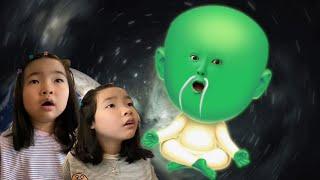 초능력 외계인이 나타났다! 외계에서 온 투명인간? UFO 외계인 마법책의 비밀 유령 유령외계인 Alien's Superpowers magic book l Ghost Alien