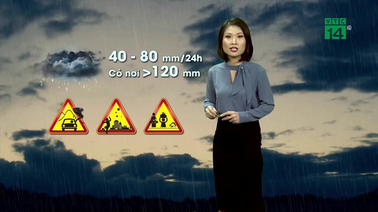 Thời tiết 6h 23/04/2020: Bắc Bộ mưa dông trên diện rộng, một số nơi còn có mưa vừa mưa to | VTC14