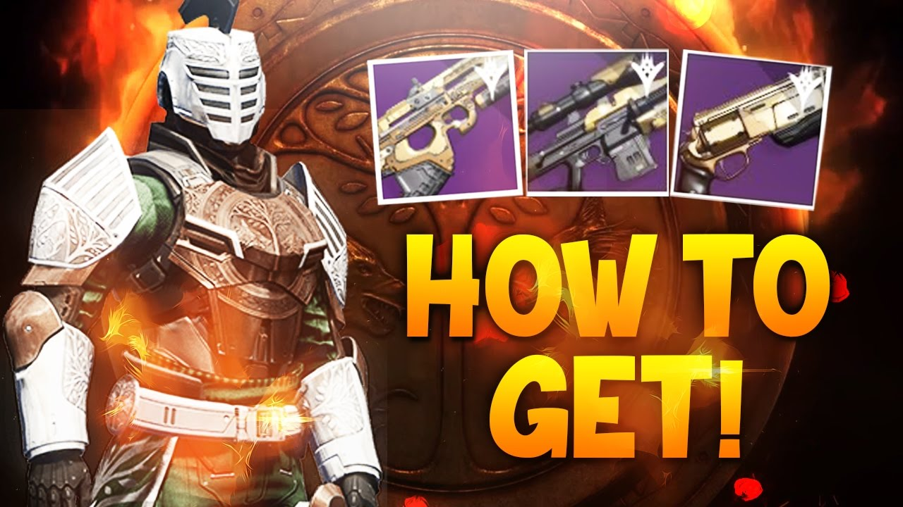 destiny - how to get year 2 iron banner and year 2 trials weapons