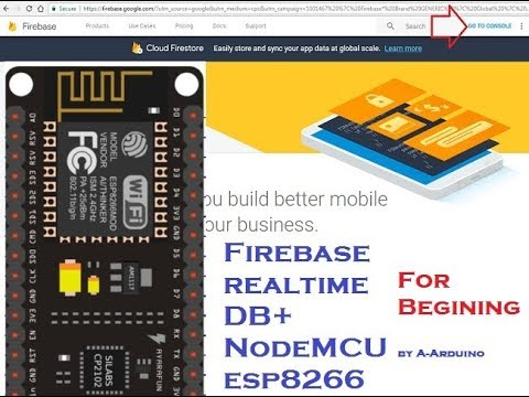 Arduino send data to fire base for beginning