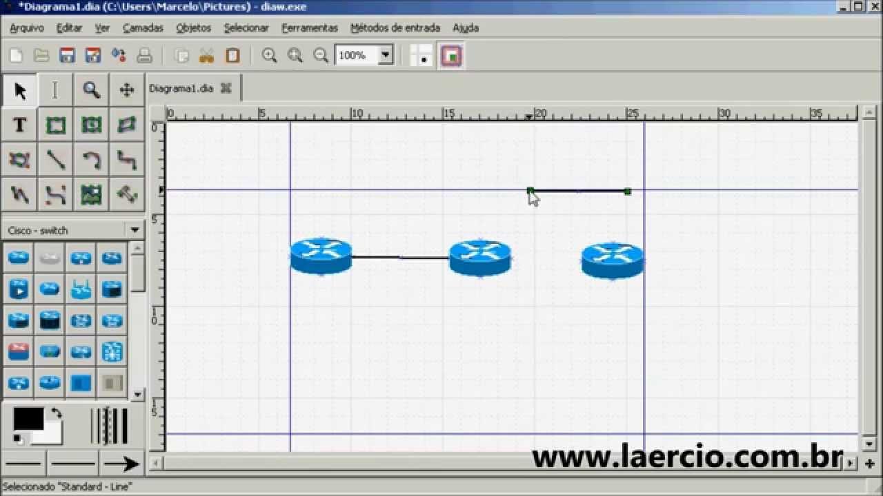 Como fazer diagrama de redes com o diagram editor youtube ccuart Images