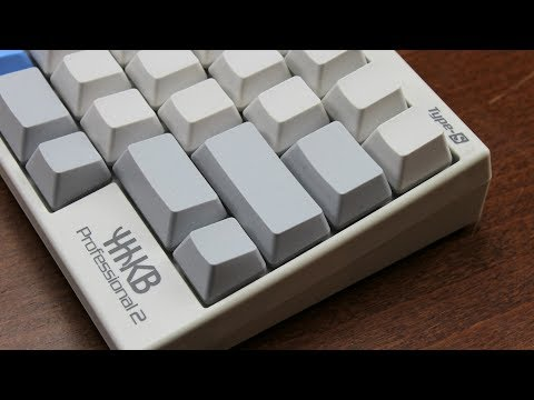 Hhkb Pro 2 Type S Review Silenced Topre Youtube