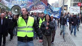 4. EnDgAmE Demo in Chemnitz - Der Marsch (18.04.2015)