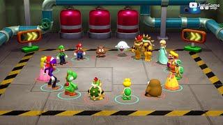 Super Mario Party - MiniGames – Luigi vs Rosalina vs Waluigi vs Daisy