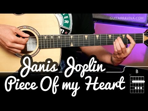 How to play Piece of my Heart on guitar