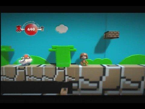 Little Big Planet Super Mario level (onQ) HQ direct feed