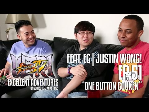 ONE BUTTON GOUKEN! The Excellent Adventures of Gootecks & Mike Ross ft. EG Justin Wong! Ep. 51