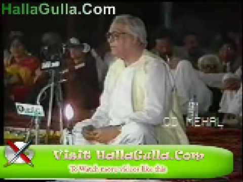 Mushaira   Majroh Sultanpuri   Ghazal   HallaGulla Com