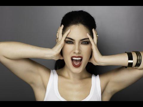 Stunning Cara Delevingne Makeup Look on Melissa Alatorre by Monika Blunder