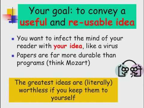 how to write a great research paper Starting your research paper: writing an introductory paragraph time for   indiana university has a great tutorial for writing thesis statements.