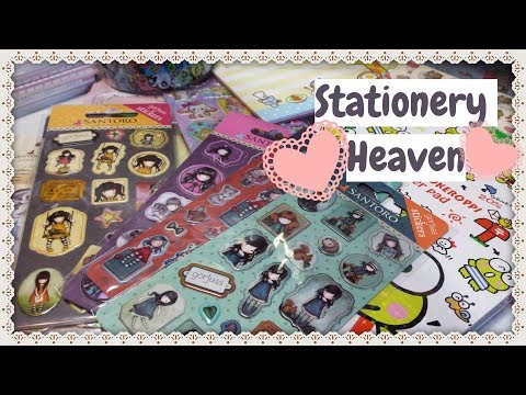 Stationery Heaven HAUL ❤ Memo Pads ❤ Kawaii ❤ Gorjuss
