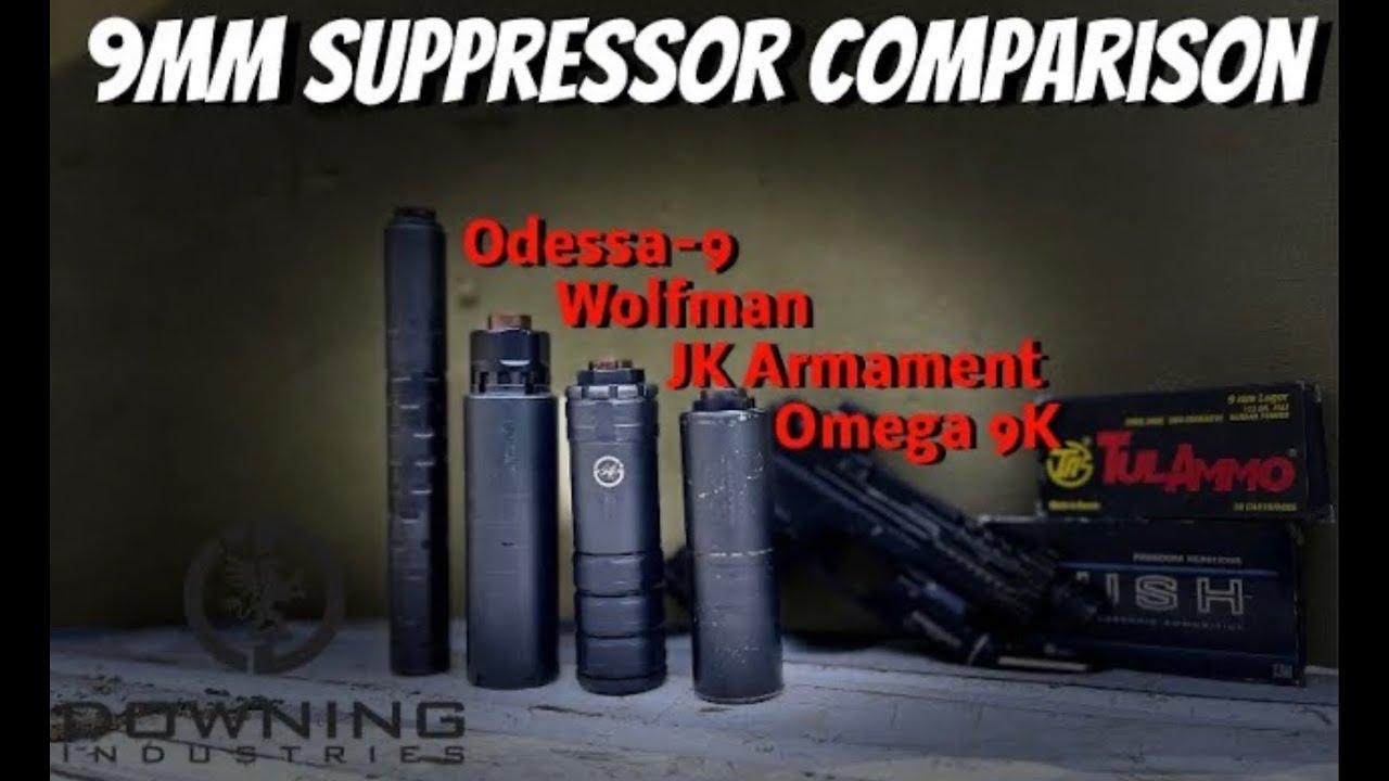 Another 9mm Suppressor Comparison