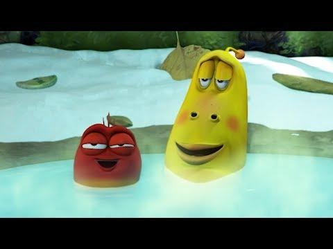 LARVA - HOT SPRINGS | Cartoon Movie | Cartoons For Children | Larva Cartoon | LARVA Official
