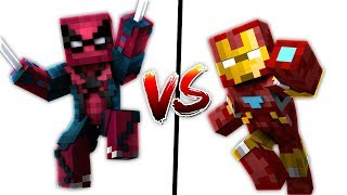 SPİDERMAN SET VS İRONMAN SET (Minecraft)