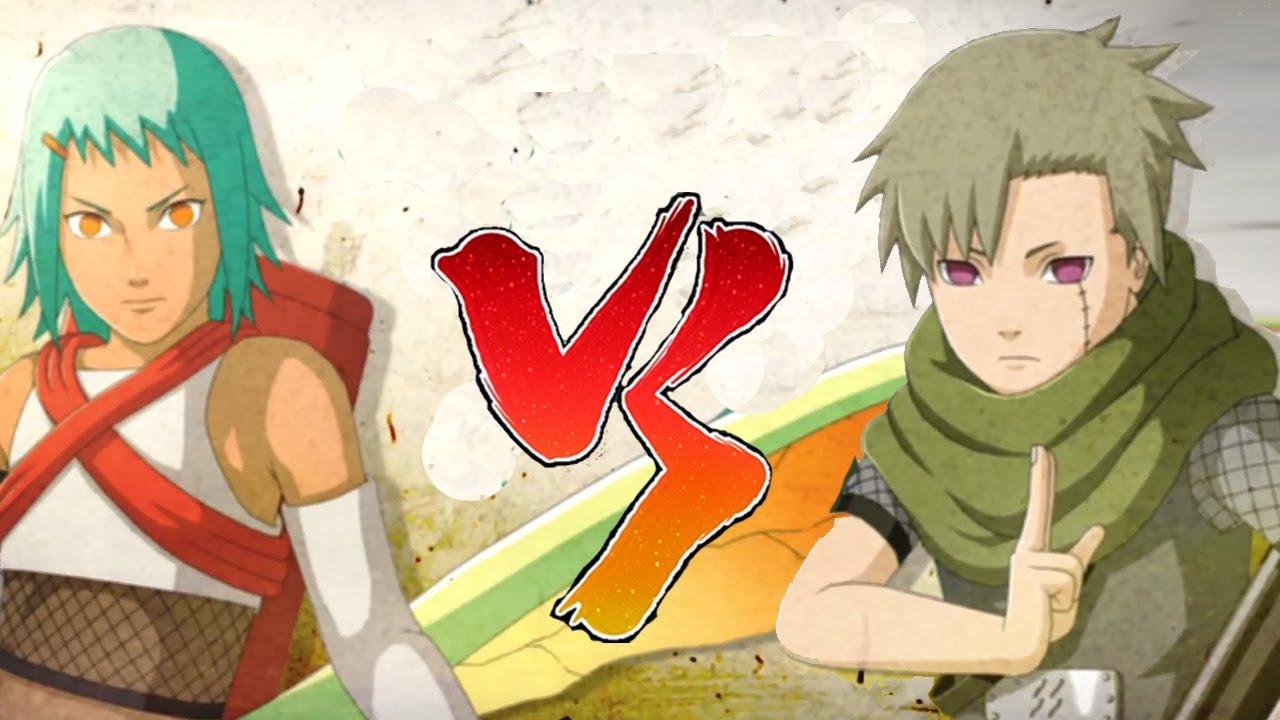 Naruto shippuden ultimate ninja storm 3 | Yagura vs Fu - YouTube