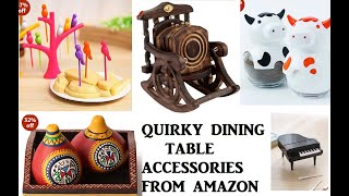 AMAZON- Quirky Dining Table Accessories/ Kitchen Table Accessories