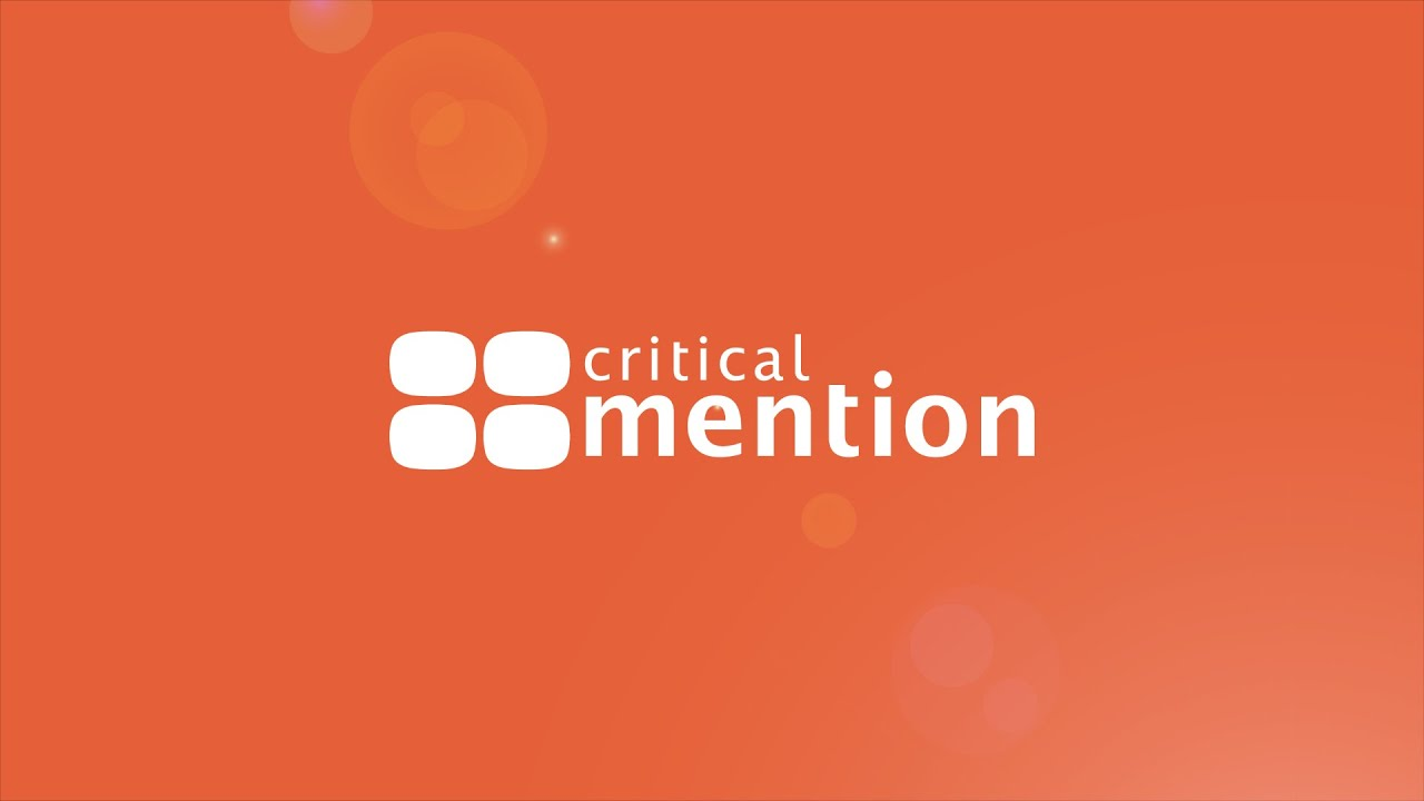 video Critical Mention