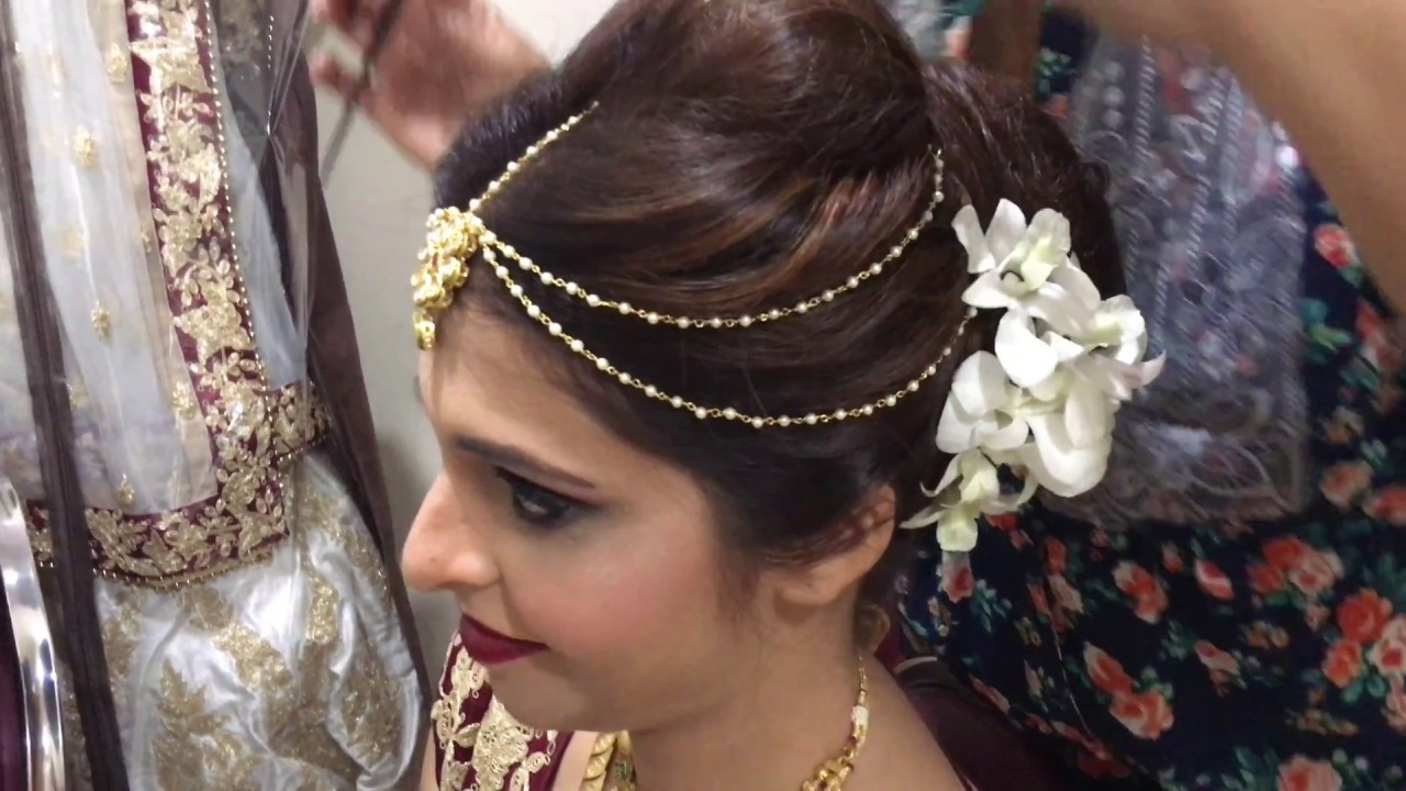 beautiful makeup for indian bride | gujrati day bride by nivritti chandra
