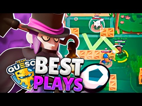 BEST MORTIS PLAYS (TRICKSHOTS BRAWL BALL) | Sr Trash
