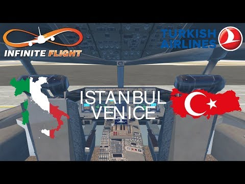 [STREAM] Infinite Flight GLOBAL: Istanbul (IST) To Venice (VCE) | Turkish Airlines | Boeing 777