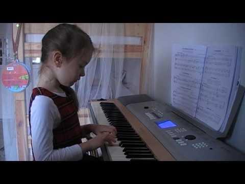 Первые уроки фортепиано