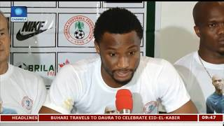 Focus On Super Eagles Ahead Of FIFA World Cup Qualifiers Pt.2 |Sports This Morning|