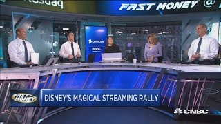 Disney surges as company announces over 10 million Disney+ sign-ups