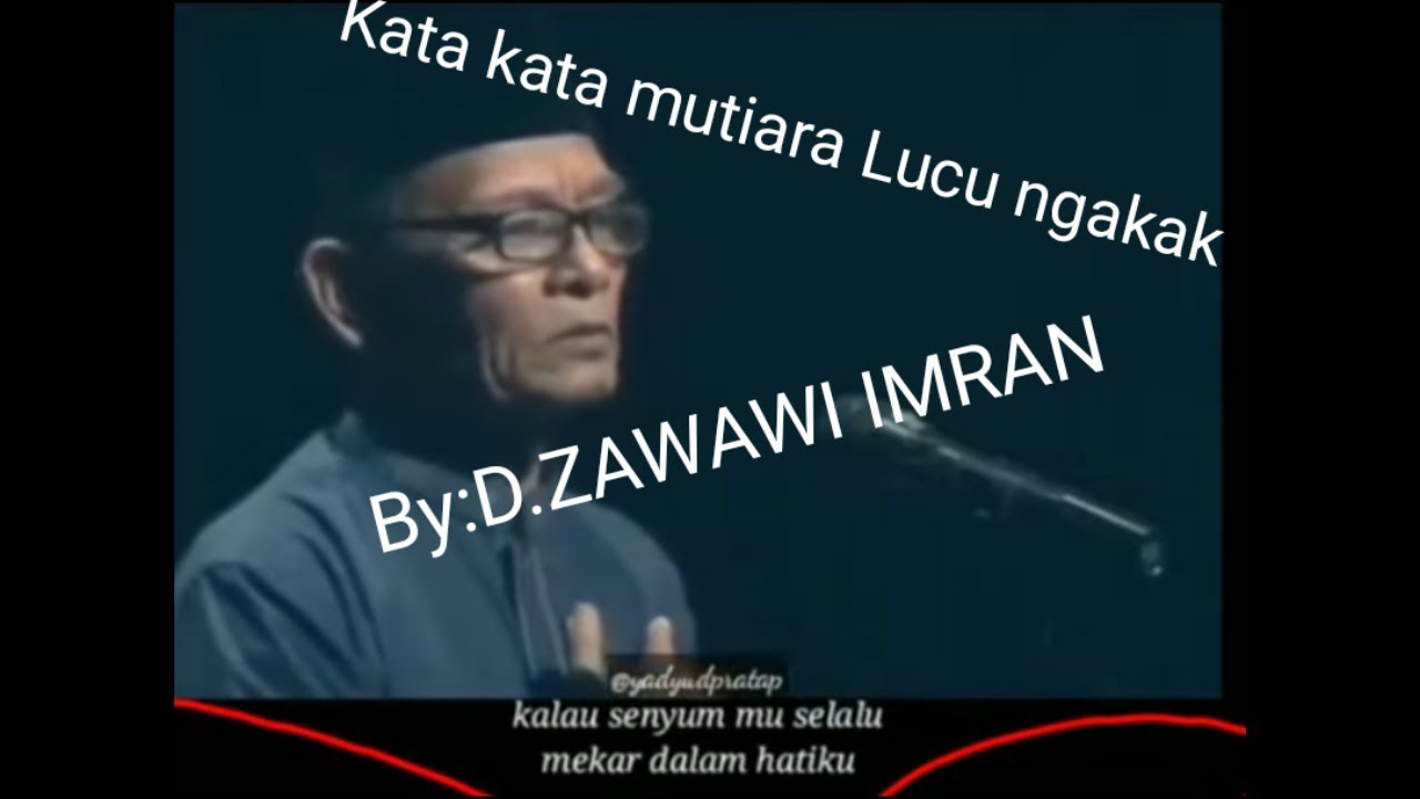 Kata Kata Mutiara Cinta By D Zawawi Imran Youtube