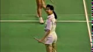 1990 Japan Open Badminton -Huang Hua vs Susi Susanti