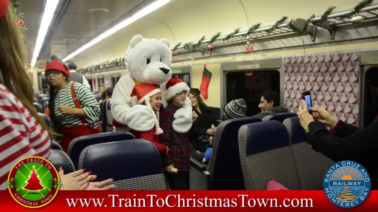 train to christmas town 2013 characters aboard the train youtube - Train To Christmas Town